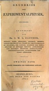 Grundriß der Experimentalphysik: 21 cm. 2