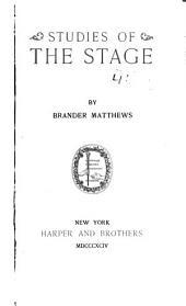 Studies of the Stage: Volume 2