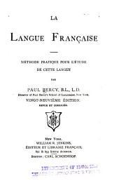 La langue française ...