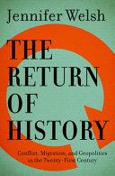 The Return of History PDF