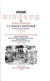 Annales Minorum: seu Trium Ordinum a S. Francisco institutorum, Volume 24