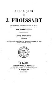 Chroniques de J. Froissart: Volume1