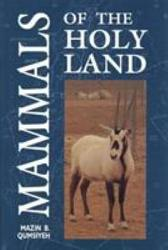 Mammals of the Holy Land PDF