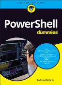 PowerShell f  r Dummies PDF