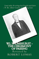 W.L.Wilmshurst - The Ceremony of Passing