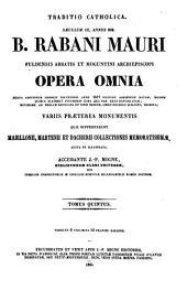 Patrologiae cursus completus ...: Series latina, Volume 111