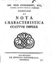 De Nota Characteristica Statuum Imperii
