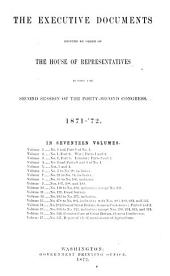 House Documents: Volumes 2-3; Volume 267