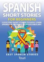 Spanish Short Stories for Beginners PDF