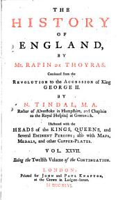 The History of England: Volume 27