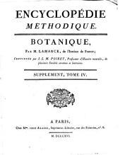 Encyclopédie méthodique: Botanique, Volume4,Partie1