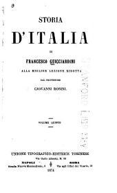 Storia d'Italia di Francesco Guicciardini: Volume 5