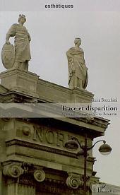 Trace et disparition: À partir de l'oeuvre de Walter Benjamin