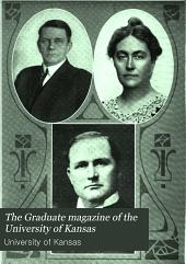 The Graduate Magazine of the University of Kansas: Volume 11