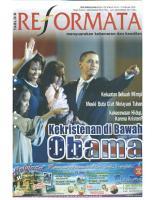 Tabloid Reformata Edisi 100 Februari Minggu I 2009 PDF