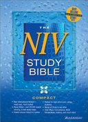NIV Study Bible Compact