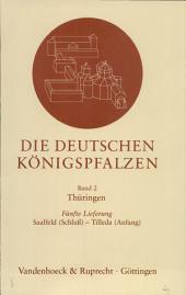 Die Deutschen Königspfalzen: Repertorium der Pfalzen, Königshöfe und übrigen Aufenthaltsorte der Könige im deutschen Reich des Mittelalters