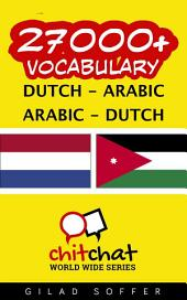 27000+ Dutch - Arabic Arabic - Dutch Vocabulary