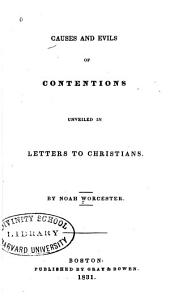 Causes and Evils of Contentions Unveiled in Letters to Christians