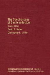 The Spectroscopy of Semiconductors