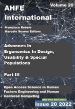 Advances in Ergonomics In Design, Usability & Special Populations: Part III