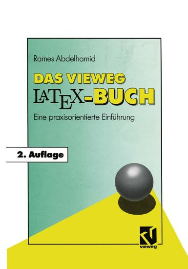 Das Vieweg LATEX Buch PDF