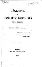 Legendes et traditions populaires de la France