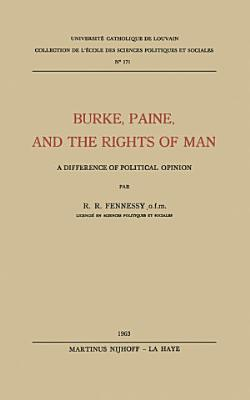 Burke  Paine  and the Rights of Man PDF