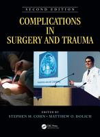 Complications in Surgery and Trauma  Second Edition PDF