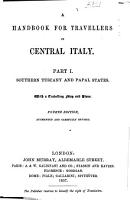 A Handbook for Travellers in Central Italy PDF