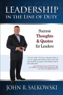 Leadership in the Line of Duty-Quote Book