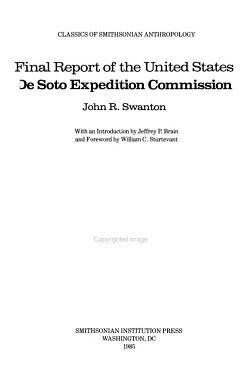 FINAL REPORT U S DESOTO EXPED PB PDF