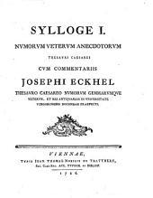 Sylloge I ...