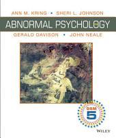 Abnormal Psychology, 12th Edition DSM-5 Update