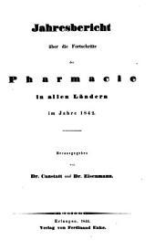 Jahresbericht über die Fortschritte in der Pharmacie in allen Ländern: 1842 (1844)
