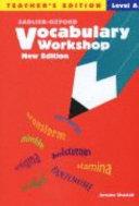 Vocabulary Workshop Level A Teacher s Edition  New Edition  PDF