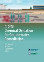 In Situ Chemical Oxidation for Groundwater Remediation PDF