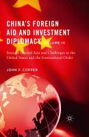 China   s Foreign Aid and Investment Diplomacy  Volume III PDF