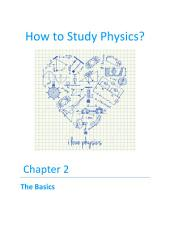 How to Study Physics?: Chapter 2 - The Basics