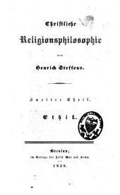 Christliche Religionsphilosophie: Band 2