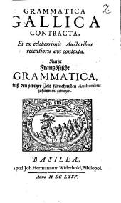 Grammatica gallica contracta