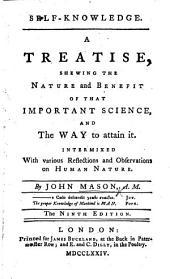 Self-knowledge ... Ninth edition
