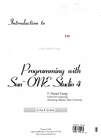 Introduction to Java Programming with Sun One Studio 4 PDF