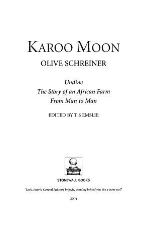 Karoo Moon PDF