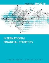 International Financial Statistics, October 2016