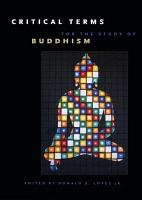 Critical Terms for the Study of Buddhism PDF
