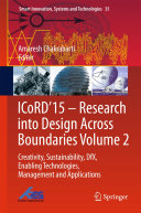 ICoRD'15 – Research into Design Across Boundaries Volume 2