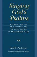 Singing God's Psalms