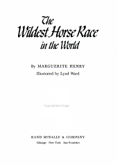 The Wildest Horse Race in the World PDF