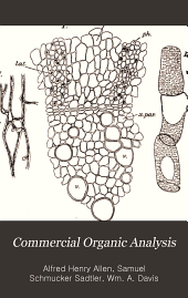 Commercial Organic Analysis: Volume 6